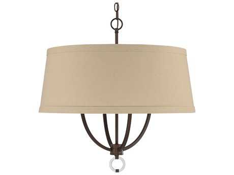Capital Lighting Taylor Burnished Bronze Four-Light 24'' Wide Pendant Light