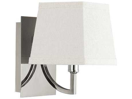 Capital Lighting Parker Polished Nickel Wall Sconce