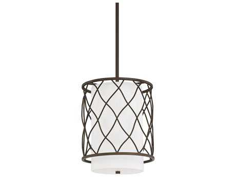 Capital Lighting Donny Osmond Home Sawyer Burnished Bronze Two-Light 10'' Wide Mini-Pendant Light