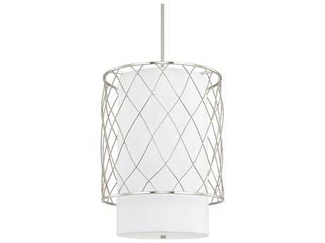 Capital Lighting Donny Osmond Home Sawyer Brushed Nickel Three-Light 18'' Wide Pendant Light