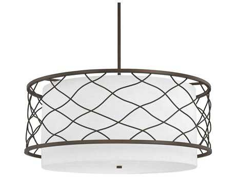 Capital Lighting Donny Osmond Home Sawyer Burnished Bronze Four-Light 28'' Wide Pendant Light