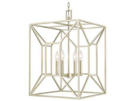 Capital Lighting Foyers Soft Gold Four-Light 17'' Wide Pendant Light