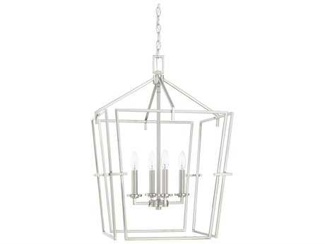 Capital Lighting HomePlace Brushed Nickel Four-Light 19'' Wide Mini Chandelier