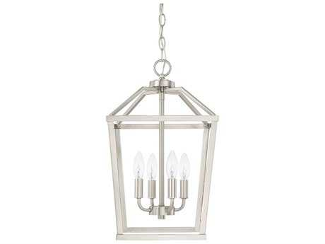 Capital Lighting HomePlace Brushed Nickel Four-Light 11'' Wide Mini Chandelier