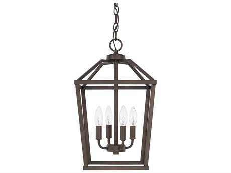 Capital Lighting HomePlace Bronze Four-Light 11'' Wide Mini Chandelier