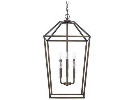 Capital Lighting HomePlace Bronze Six-Light 17'' Wide Chandelier