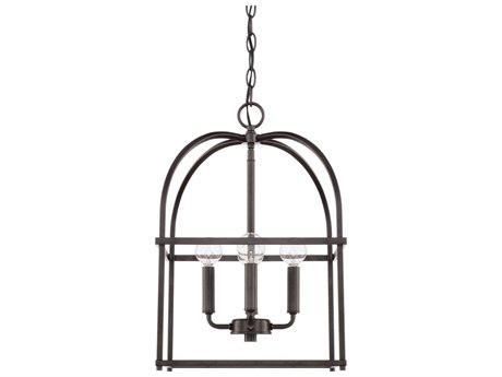 Capital Lighting Homeplace Bronze Four-Lights 13'' Wide Mini Chandelier
