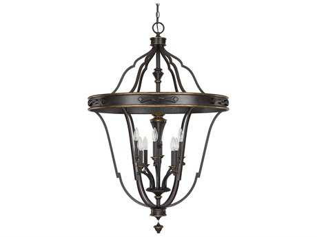 Capital Lighting Wyatt Surrey Eight-Light 30'' Wide Pendant Light