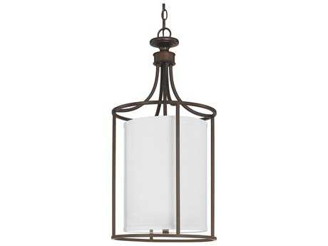 Capital Lighting Midtown Burnished Bronze Two-Light 14'' Wide Pendant Light