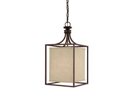 Capital Lighting Midtown Burnished Bronze Two-Light Pendant Light