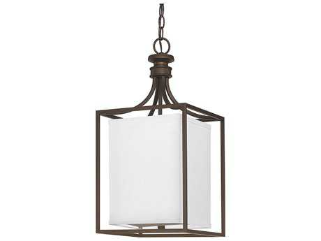 Capital Lighting Midtown Burnished Bronze Two-Light 11'' Wide Pendant Light