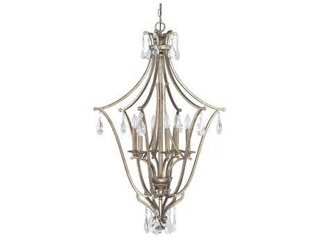 Capital Lighting Montclaire Mystic Six-Light 26'' Wide Pendant Light
