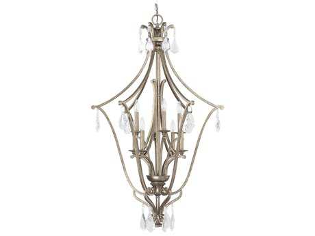 Capital Lighting Montclaire Mystic Eight-Light 30'' Wide Pendant Light