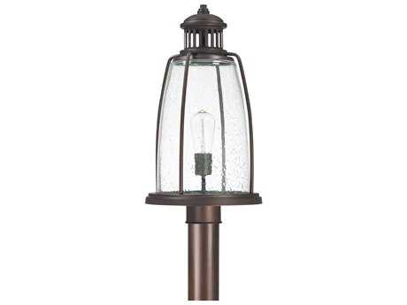 Capital Lighting Harbour Old Bronze 10.5'' Wide Outdoor Post Light