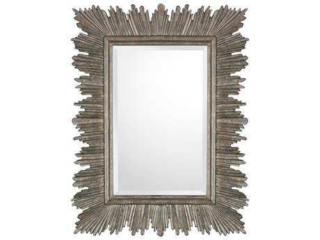 Capital Lighting Rustic 31''W x 40H Rectangular Wall Mirror