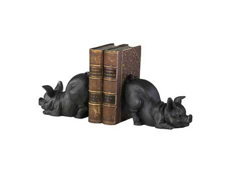 Cyan Design Piggy Old World Book End