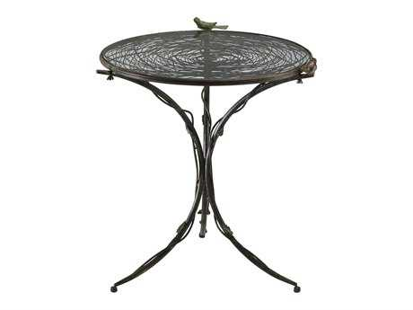 Cyan Design 22 Round Bird Bistro Console Table
