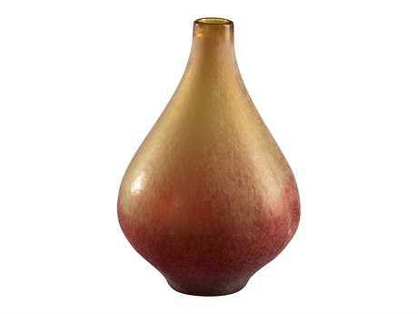 Cyan Design Medium Vizio Yellow & Orange Vase