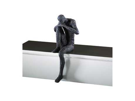 Cyan Design Thinking Man Shelf Decor