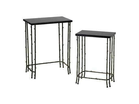 Cyan Design 19 x 12 Rectangular Bamboo Nesting Table