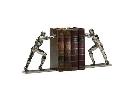 Cyan Design Silver Set of 2 Iron Man Bookends