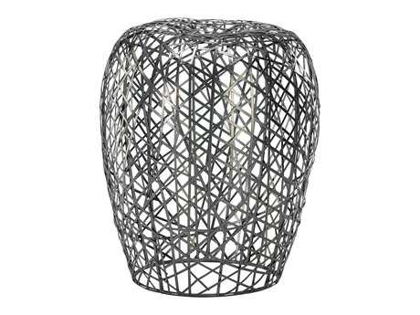 Cyan Design Silver Open Grid Stool