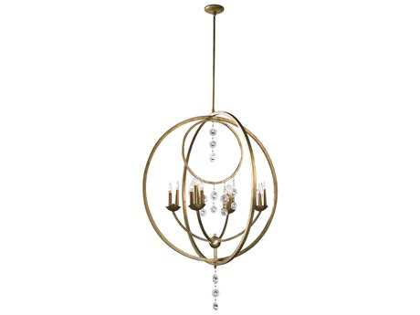 Cyan Design Emilia Silver Leaf 16-Light 36'' Wide Chandelier
