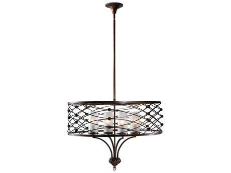 Cyan Design Clarisse Calcutta Dusk Four-Light Pendant