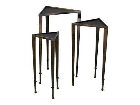 Cyan Design 19 x 16.5 Corner Triangle Nesting Table