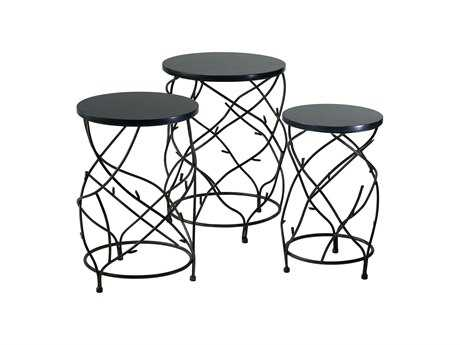 Cyan Design 18 Round Branch Drum Table Set