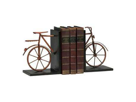 Cyan Design Bicycle Muted Rust Book End