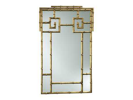 Cyan Design 23.5 x 38 Gold Bamboo Wall Mirror