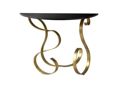 Cyan Design 36 Demilune Ribbon Console Table