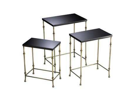 Cyan Design 18 x 12.5 Rectangular Sanders Nesting Table