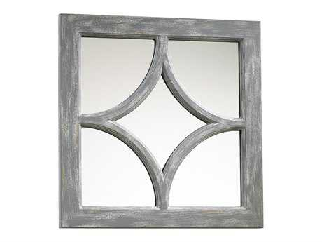 Cyan Design Ashton 17 x 17 Distressed Gray Wall Mirror