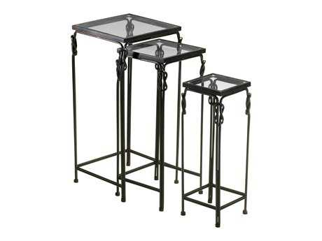 Cyan Design 14.25 Square Dupont Nesting Table