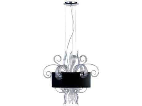 Cyan Design Jellyfish Black Three-Light Pendant