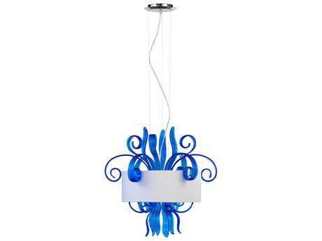 Cyan Design Jellyfish Blue Three-Light Pendant