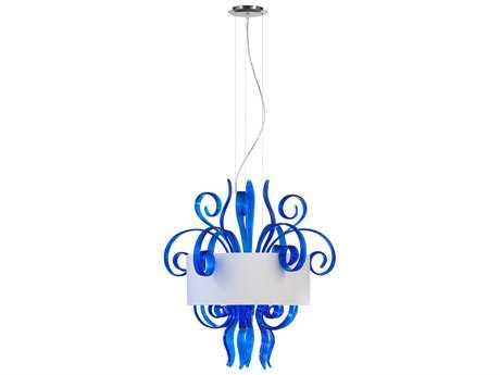 Cyan Design Jellyfish Blue Six-Light Pendant