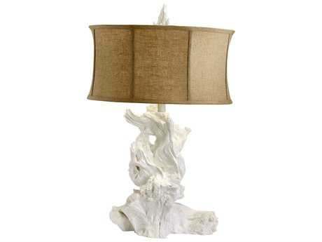 Cyan Design Driftwood White Table Lamp
