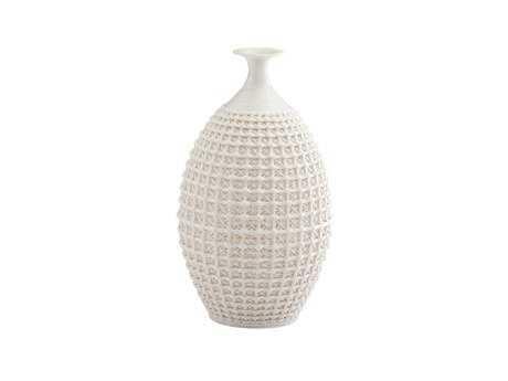 Cyan Design Matte White Diana Vase