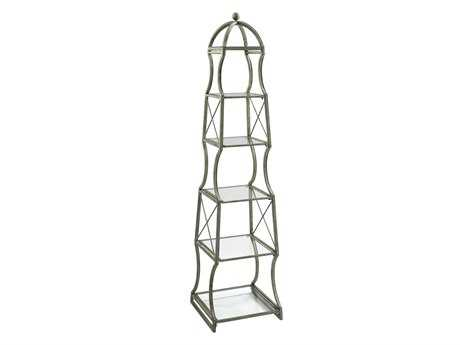 Cyan Design Chester Rustic Gray Etagere Rack