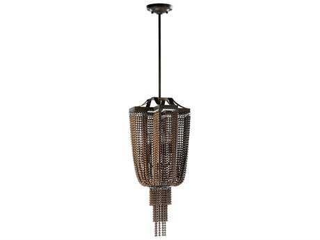 Cyan Design Marcello Oiled Bronze Four-Light Pendant