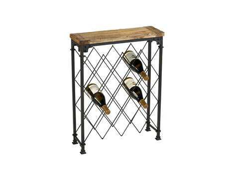 cyan design rustic hudson wine rack - Wine Racks For Sale