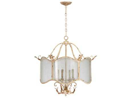 Cyan Design Maison Persian White Four-Light 28'' Wide Chandelier