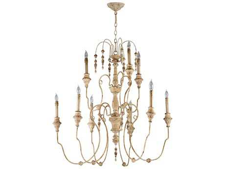 Cyan Design Maison Persian White Nine-Light 40'' Wide Chandelier