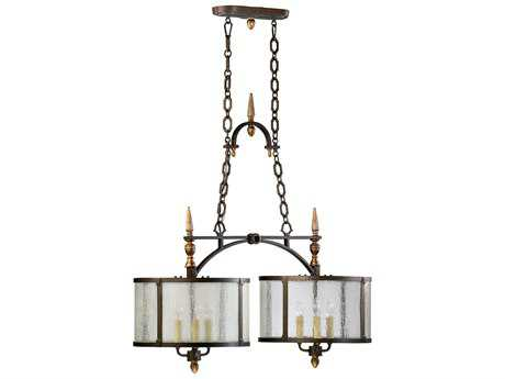 Cyan Design San Giorgio Oiled Bronze Six-Light Pendant