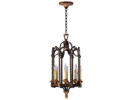 Cyan Design San Giorgio Oiled Bronze Eight-Light Pendant