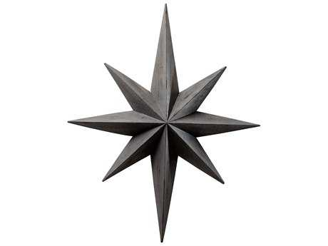 Cyan Design Distressed Gray Star Wall Decoration