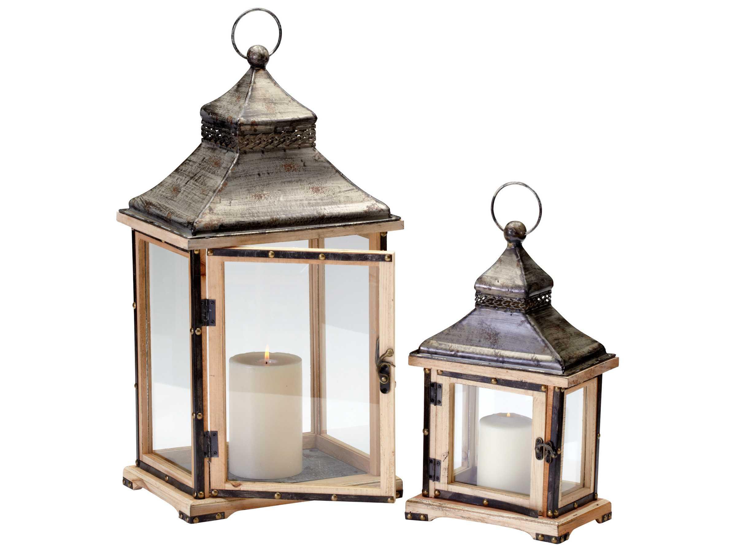 Cyan design oxford raw iron natural wood candle holder for Oxford turned wood candle holders